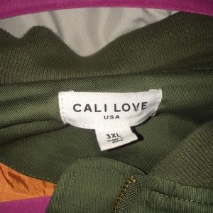 Jackets & Coats - Olive green bomber